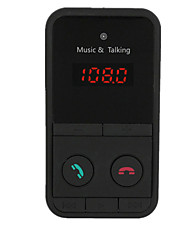cheap -Wireless Bluetooth Car Kit Handsfree FM Transmitter