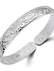 cheap -Women's Bracelet Bangles Ladies Gold Bracelet Jewelry Silver For Wedding Party Daily Casual Masquerade Engagement Party / Gold Plated