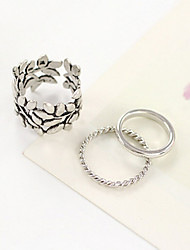 cheap -Women's Couple Rings Alloy Personalized Unusual Unique Design Daily Casual Jewelry