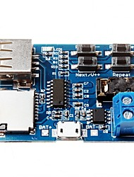 cheap -TF Card U Disk MP3 Format Decoder Board Module Amplifier Decoding Audio Player