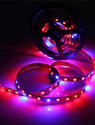 cheap -ZDM 5M Waterproof LED Light Strips Flexible Tiktok Lights IP65 5050 4 Red+1 Blue Full Spectrum Led Grow Light 300Leds Led Strip Lamps for Plants Growing Aquarium Lighting 1pc