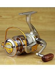 cheap -Fishing Reel Spinning Reel 5.5:1 Gear Ratio+10 Ball Bearings Hand Orientation Exchangable Sea Fishing / Spinning / Jigging Fishing / Freshwater Fishing / Carp Fishing / Bass Fishing / Lure Fishing
