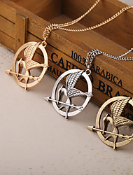 cheap -Women's Pendant Necklace Alloy Gold Silver Necklace Jewelry For