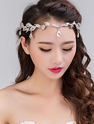 cheap -Alloy Headbands / Headwear with Floral 1pc Wedding / Special Occasion Headpiece