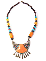 cheap -National style restoring ancient ways beaded necklace