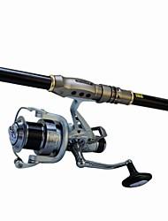 cheap -Surf Rod 3.6M Waterproof Medium Heavy (MH) Sea Fishing Fly Fishing Spinning / Jigging Fishing / Freshwater Fishing / Carp Fishing / General Fishing / Trolling & Boat Fishing