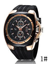 cheap -Women's Sport Watch Quartz Black Casual Watch Cool Analog Ladies Fashion - 3# 4# 5#