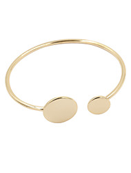cheap -Women's Cuff Bracelet Open Alloy Bracelet Jewelry Silver / Golden For Wedding Party Daily Casual Sports