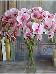 cheap -5pcs Real-touch Artificial Flowers Orchids Home Decor Wedding Party Gift 14*78cm