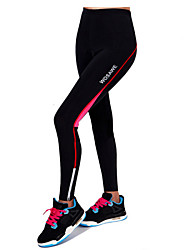 cheap -Women's Cycling Tights Bike Pants Bottoms Breathable 3D Pad Reflective Strips Sports Red / Green Road Bike Cycling Clothing Apparel Relaxed Fit Bike Wear / High Elasticity
