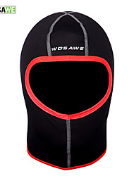 cheap -WOSAWE Pollution Protection Mask Hat Solid Color Thermal / Warm Windproof Breathable Quick Dry Dust Proof Bike / Cycling Black / Red Polyester Fleece for Men's Women's Adults' Cycling / Bike Solid