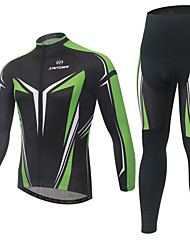cheap -Long Sleeve British Bike Clothing Suit Quick Dry Sports Lycra British Clothing Apparel / Stretchy / High Elasticity