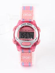 Недорогие -Спортивные часы электронные часы Цифровой Розовый Защита от влаги Цифровой Дамы Кулоны Мода Один год Срок службы батареи / Tianqiu 377
