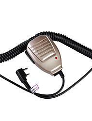 Недорогие -baiston BST-32 железа зажим Ручной микрофон для портативной рации (ассорти цветов)