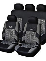 cheap -AUTOYOUTH Car Seat Covers Seat Covers Textile Common For universal Fit Most Cars Covers with Tire Track Detail Styling Car Seat Protector