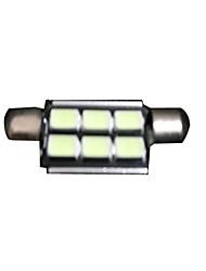 Недорогие -Автомобиль Светодиодная лампа позиция лампы гирлянда 41mm 5050 9SMD Светодиодные лампы Светодиодные лампы светодиодные интерьера чтении