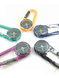 cheap -Compasses Carabiner Convenient Plastic Hiking Climbing Camping Outdoor Travel