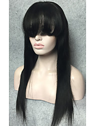 cheap -Remy Human Hair Lace Front Wig style Straight Wig Short Medium Length Long Human Hair Lace Wig StrongBeauty
