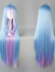 cheap -Lolita Wigs Sweet Lolita Dress Blue Sweet Lolita Lolita Wig 41 inch Cosplay Wigs Patchwork Wig Halloween Wigs