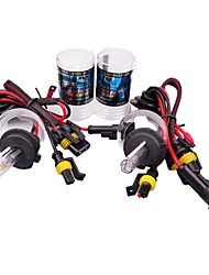 cheap -H7 Car Light Bulbs 55 W 3800 lm 2 HID Xenon Headlamps For