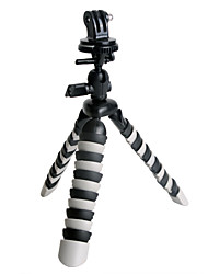 Недорогие -Трипод Монтаж Для Экшн камера Gopro 3/2/1 SJCAM Nikon D3100 Polaroid Куб Sony HDR-AS30 Универсальный Авто Кино и Музыка Нержавеющая сталь Силикон / Sony HDR-AS20 / Sony HDR-AS100 / Sony HDR-AS200