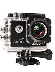 cheap -SJCAM SJ4000 WIFI Sports Action Camera Gopro Gopro & Accessories Outdoor Recreation vlogging Waterproof / WiFi 32 GB 8 mp / 5 mp / 3 mp 4x 1920 x 1080 Pixel 1.5 inch CMOS H.264 30 m ±2EV / iPhone iOS