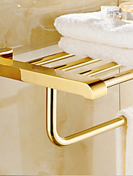 cheap -Towel Bar Contemporary Brass 1 pc - Hotel bath Double