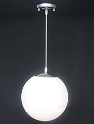 cheap -15CM Contracted White Glass Ball Decorative Chandelier Light Lamp LED