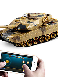cheap -Newest Remote Control Toys Battle RC Tank Control via Mobile Phone Bluetooth Super Power RC Toy