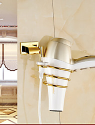 cheap -Hair Dryers Contemporary Brass 1 pc - Hotel bath