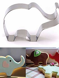 cheap -Elephant Animal Cookie Cutter Stainless Steel Cake Baking Pastry Mould