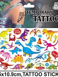cheap -1 pcs Non Toxic / Halloween / Tattoo Sticker Temporary Tattoos Animal Series Halloween Body Arts