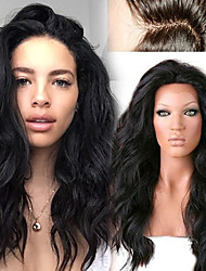 cheap -unprocessed 12 26 peruvian human hair natural loose wave full lace wig human hair lace front wigs