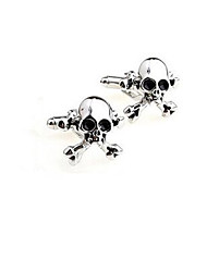 cheap -Men's Cuff Links Stainless Steel Cufflinks Wedding Novelty Silver Lot Gift Shirt