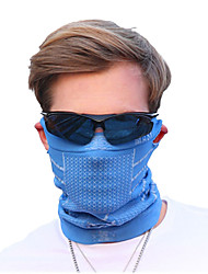 cheap -Pollution Protection Mask Solid Color Sunscreen Breathable Quick Dry Ultraviolet Resistant Anti-Insect Bike / Cycling Black Purple Blue Winter for Men's Adults' Cycling / Bike Solid Color / Stretchy