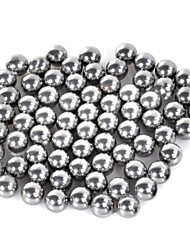 cheap -7mm Carbon Steel Slingshot Ball Silver 70 PCS