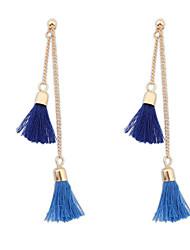 cheap -Women's Drop Earrings Ladies Earrings Jewelry Blue / Pink / Khaki For Wedding Party Daily Casual