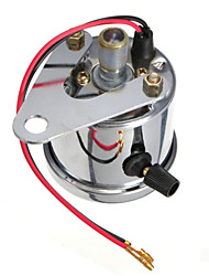 cheap -Motorcycle Universal Dual Odometer Night Light Speedometer