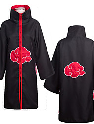 cheap -Inspired by Naruto Akatsuki Hidan Anime Cosplay Costumes Japanese Cosplay Suits Cosplay Accessories Print 1 Ring Cloak Necklace For Men's / Headband / Headband