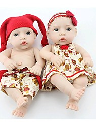 cheap -NPK DOLL Reborn Doll Baby Newborn lifelike Cute Hand Made Child Safe Full Body Silicone Silicone Vinyl with Clothes and Accessories for Girls' Birthday and Festival Gifts / Non Toxic / Lovely / Kid's