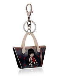 Недорогие -2016 аниме ключ цепи мультфильма милые девушки печать ювелирных изделий сумки брелок автомобиля женщин брелок для ключа кольцо оптового