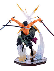 cheap -Roronoa Zoro PVC(PolyVinyl Chloride) 1 pcs Men's Toy Gift