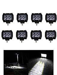 Недорогие -8x 30w вел свет работы бар внедорожный 12v 24v АТВ пятно внедорожный для грузовиков 4x4 утв