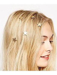 cheap -Women's Spiral hairpin For Party Casual Daily Alloy Golden