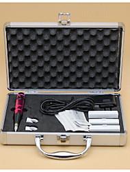 abordables -Electrique Kit de maquillage Crayons à Sourcils Lèvres Eyeliners Machines de tatouage 1 Ligner rond 3 Ligner rond