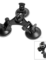 cheap -Suction Cup Mount / Holder 1 pcs For Action Camera Gopro 3/2/1 SJCAM Nikon D3100 Polaroid Cube SJ4000 Universal Auto Film and Music Aluminium ABS / Sony FDR-X1000 / Sony HDR-AZ1 / Sony HDR-AS30
