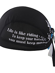 cheap -Coolpad Skull Cap Beanie Do Rag Sunscreen UV Resistant Breathable Quick Dry Anti-Insect Bike / Cycling Winter for Men's Women's Adults' Camping / Hiking Fishing Climbing Equestrian Golf Letter