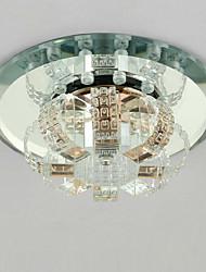 cheap -1-Light Crystal / LED Flush Mount Lights Crystal Others Modern Contemporary 220-240V