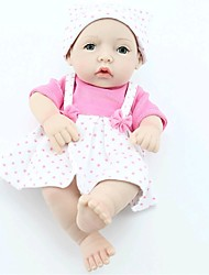cheap -NPKCOLLECTION NPK DOLL Reborn Doll Baby Full Body Silicone Silicone Vinyl - Newborn lifelike Hand Made Child Safe Non Toxic Hand Applied Eyelashes Kid's Girls' Toy Gift / CE Certified / Floppy Head
