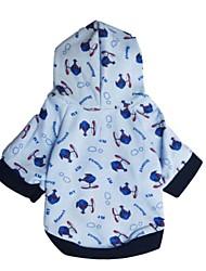 cheap -Hoodies for Dogs White Winter Fashion XS / S / M / L Cotton